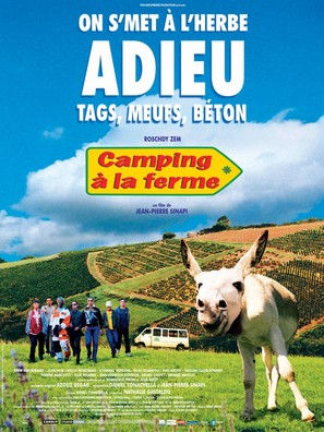 Camping à la ferme - French Movie Poster (thumbnail)