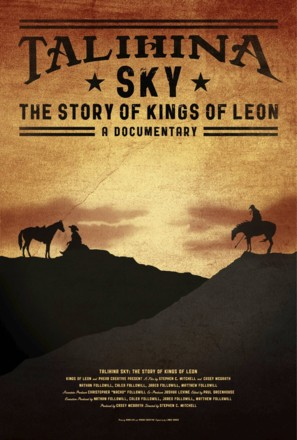 Talihina Sky: The Story of Kings of Leon - Movie Poster (thumbnail)