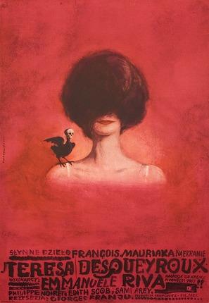Thérèse Desqueyroux - Polish Movie Poster (thumbnail)