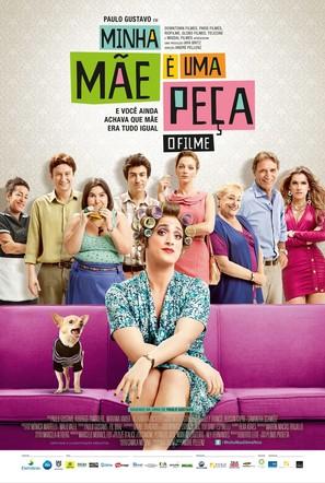 Minha Mãe é uma Peça - Brazilian Movie Poster (thumbnail)