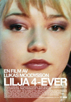 Lilja 4-ever - Swedish Movie Poster (thumbnail)