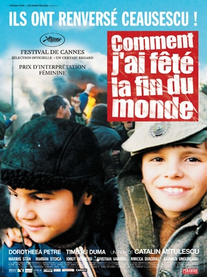 Cum mi-am petrecut sfarsitul lumii - French Movie Poster (thumbnail)