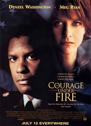 Courage Under Fire - Movie Poster (thumbnail)