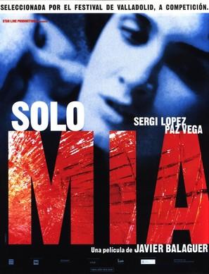 Sólo mía - Spanish Movie Poster (thumbnail)