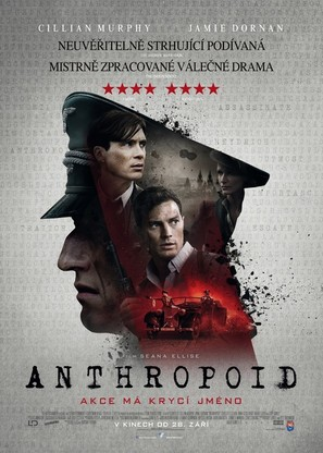 Anthropoid - Czech Movie Poster (thumbnail)