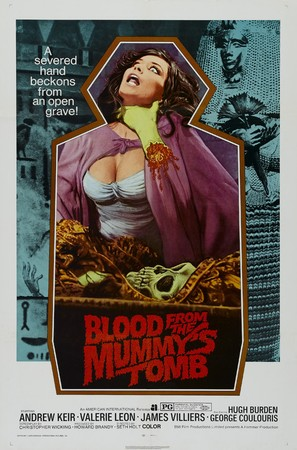 Blood from the Mummy's Tomb - Movie Poster (thumbnail)