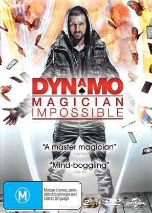 """Dynamo: Magician Impossible"" - Australian DVD movie cover (thumbnail)"