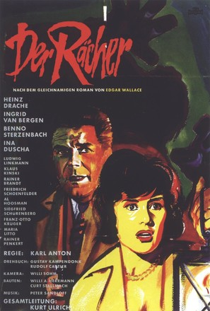 Rächer, Der - German Movie Poster (thumbnail)