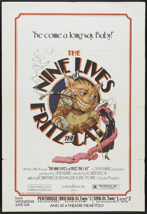 The Nine Lives of Fritz the Cat - Movie Poster (thumbnail)