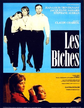 Les biches - French Movie Poster (thumbnail)