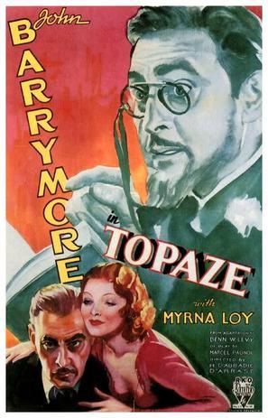Topaze - Movie Poster (thumbnail)