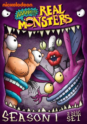 """Aaahh!!! Real Monsters"" - DVD movie cover (thumbnail)"