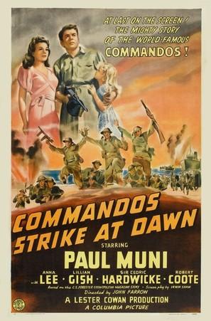 Commandos Strike at Dawn - Movie Poster (thumbnail)