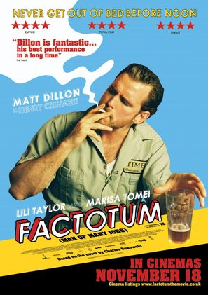 Factotum - British Movie Poster (thumbnail)