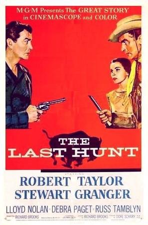 The Last Hunt - Movie Poster (thumbnail)