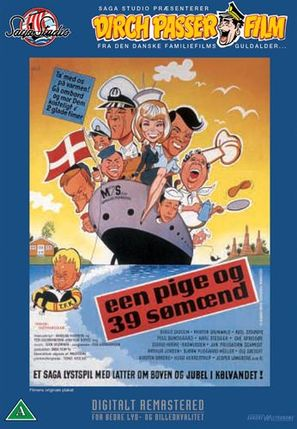 Een pige og 39 sømænd - Danish Movie Cover (thumbnail)