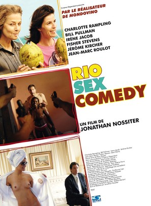 Rio Sex Comedy - French Movie Poster (thumbnail)