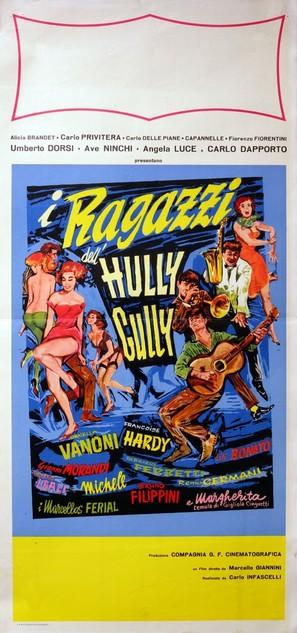 I ragazzi dell'hully-gully - Italian Movie Poster (thumbnail)