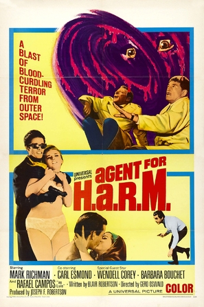 Agent for H.A.R.M. - Movie Poster (thumbnail)