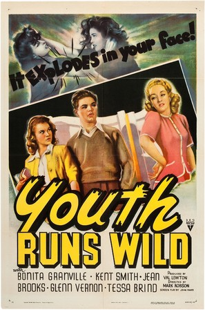 Youth Runs Wild - Movie Poster (thumbnail)