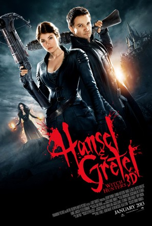 Hansel & Gretel: Witch Hunters - Movie Poster (thumbnail)