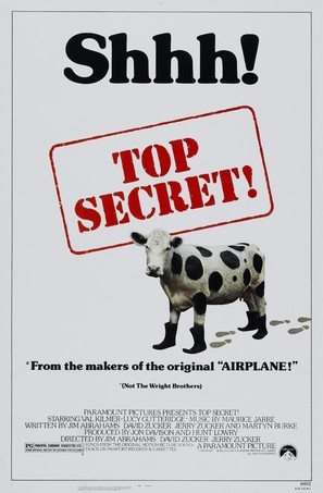 Top Secret - Theatrical movie poster (thumbnail)