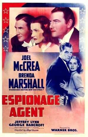 Espionage Agent - Movie Poster (thumbnail)