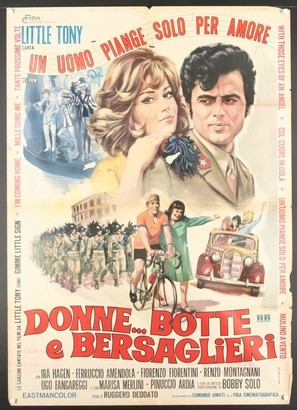 Donne... botte e bersaglieri - Italian Movie Poster (thumbnail)