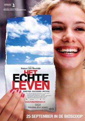 Het echte leven - Dutch Movie Poster (thumbnail)