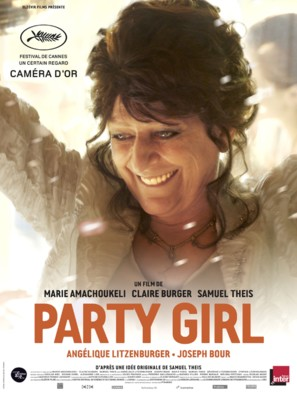 Party Girl - French Movie Poster (thumbnail)