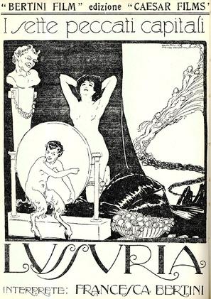 Lussuria, La - Italian Movie Poster (thumbnail)