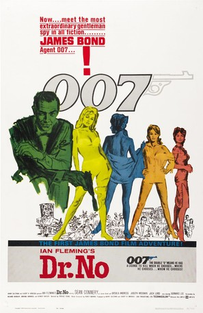 Dr. No - Movie Poster (thumbnail)