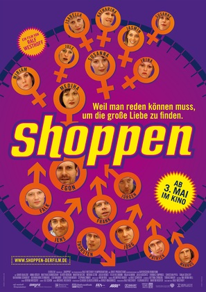 Shoppen - German poster (thumbnail)