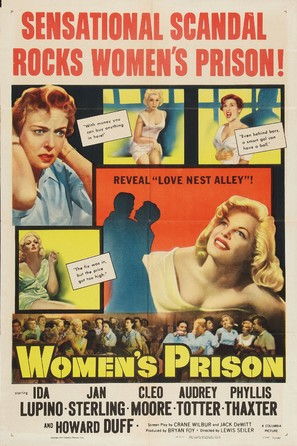 Women's Prison - Movie Poster (thumbnail)