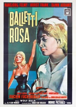 Die zornigen jungen Männer - Italian Movie Poster (thumbnail)