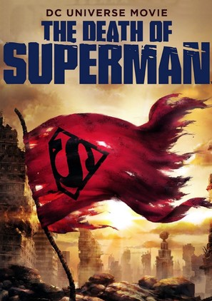 The Death of Superman - DVD movie cover (thumbnail)