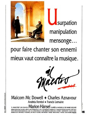 Il maestro - French Movie Poster (thumbnail)