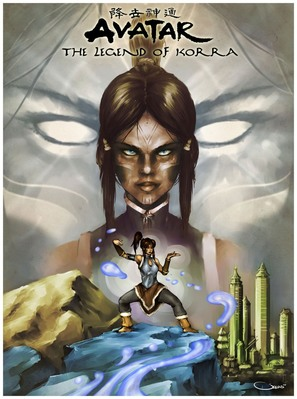 """The Legend of Korra"" - Movie Poster (thumbnail)"