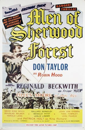 The Men of Sherwood Forest - Movie Poster (thumbnail)