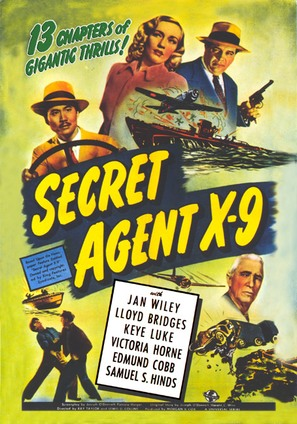 Secret Agent X-9 - DVD cover (thumbnail)