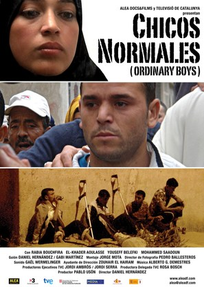Chicos normales - Spanish Movie Poster (thumbnail)