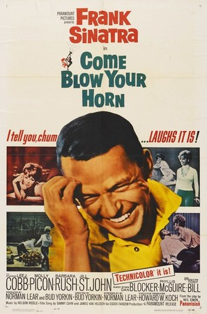 Come Blow Your Horn - Movie Poster (thumbnail)