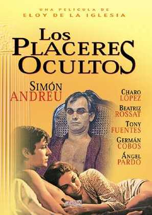 Los placeres ocultos - Spanish Movie Poster (thumbnail)