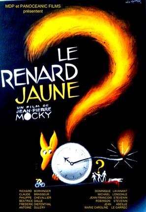 Le renard jaune - French Movie Poster (thumbnail)