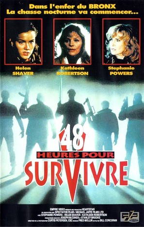 Survive the Night - French VHS cover (thumbnail)