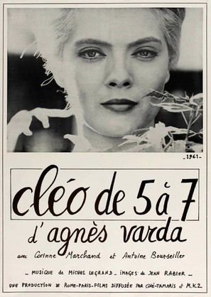 Cléo de 5 à 7 - French Movie Poster (thumbnail)