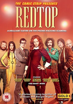 Comic Strip Presents RED TOP - British Movie Cover (thumbnail)