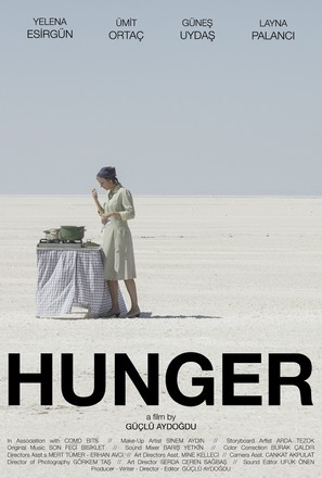 Hunger - Turkish Movie Poster (thumbnail)