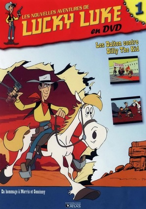 """Les nouvelles aventures de Lucky Luke"" - French Movie Cover (thumbnail)"