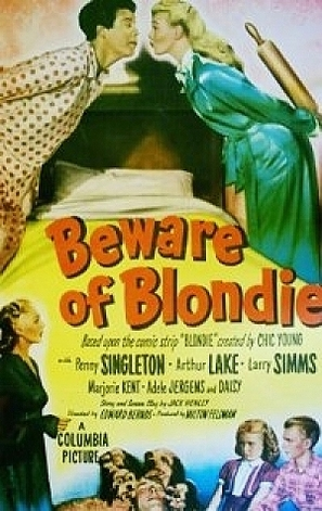 Beware of Blondie - Movie Poster (thumbnail)